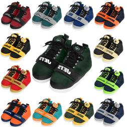 Officially Licensed NFL Puffy High-Top Sneaker Slippers 4922