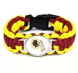 Outdoor NFL Lanyard Colors Football Paracord Bracelet Super