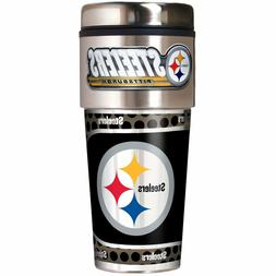 Pittsburgh Steelers NFL Stainless Steel 16oz Travel Tumbler