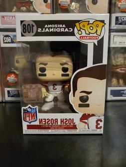 Funko Pop! NFL Football Arizona Cardinals Josh Rosen #108 Fi