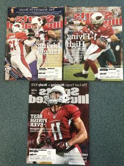 sports illustrated Arizona Cardinals bundle with 3 issues fr