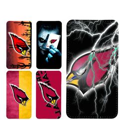 wallet case Arizona Cardinals iphone 7 iphone 6 6+ 5 7 X XR