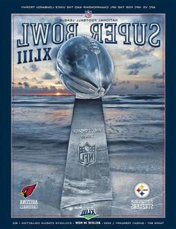 Super Bowl XLIII STADIUM Game Program pittsburgh steelers vs